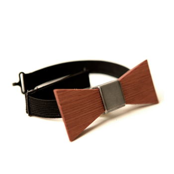 Wood Thumb bow tie復古木質領結