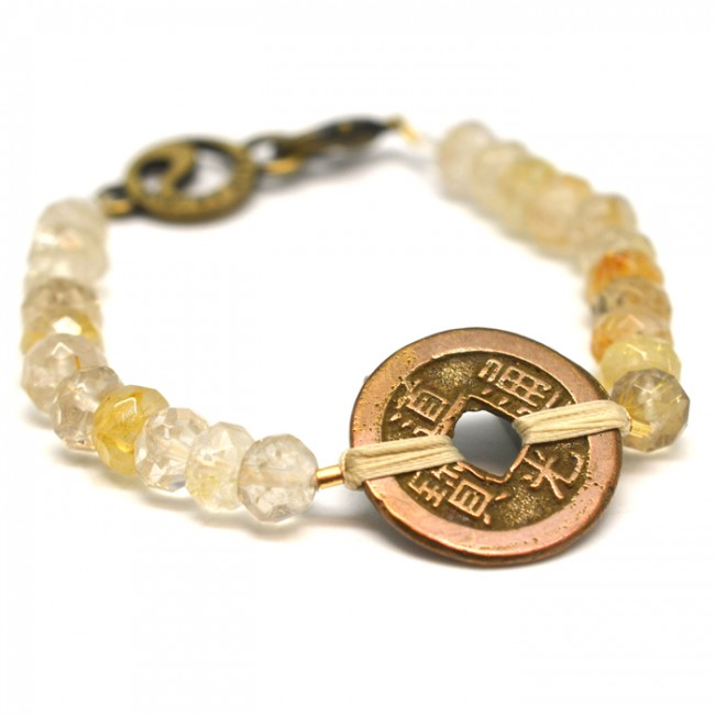 <div>Energy Muse Guardian Angel Bracelet 守護天使手環</div>