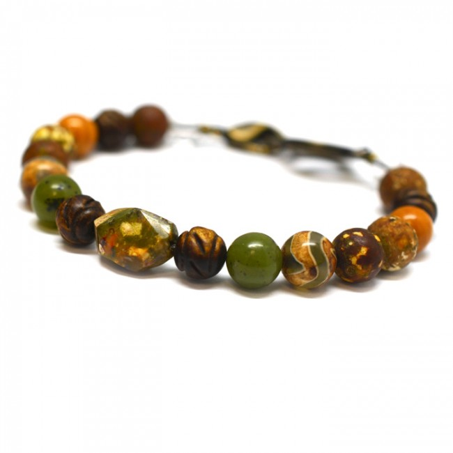<div>Energy Muse Earth Element Bracelet 地元素手環</div>