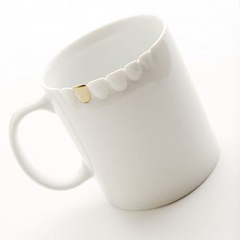 【天晴設計】金牙杯 Golden Teeth Mug