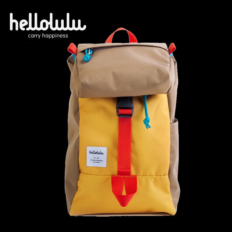 <div>Hellolulu-Mini Sutton-All Day背包(啡/黃)</div>