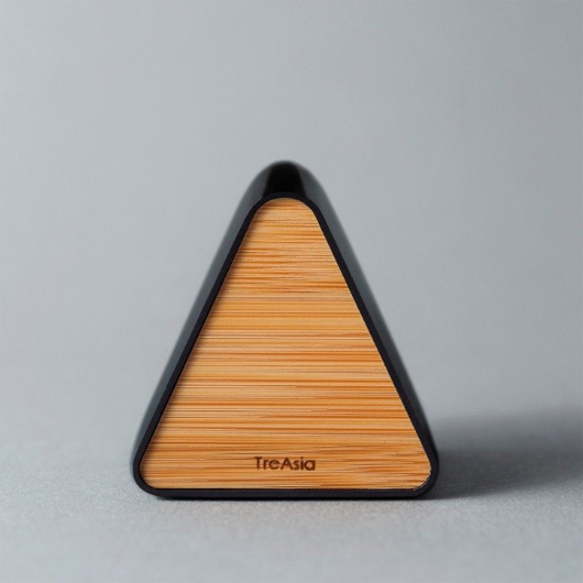 TreAsia Triangle|Bamboo Eyewear Stand_燻竹眼鏡座