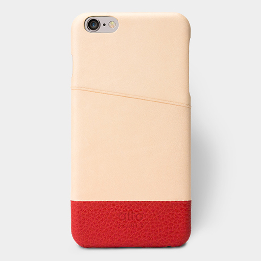 <div>[alto] Metro Plus Genuine Leather Case for iPhone 6 Plus / 6S Plus 真皮手機殼背蓋-原皮/紅</div>