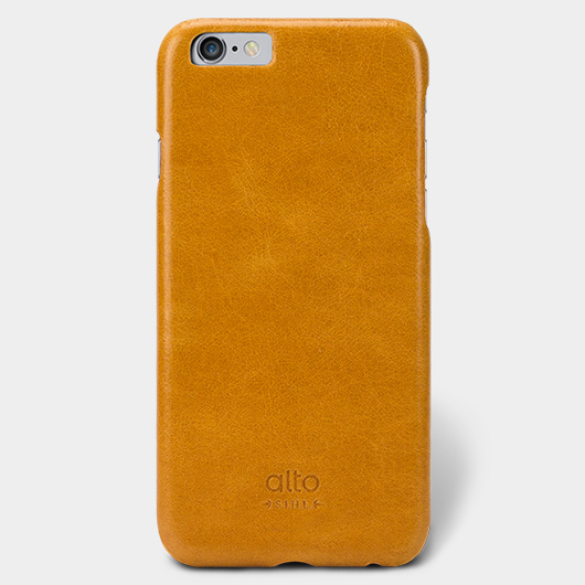 <div>[alto] Original Leather Case For iPhone 6 / 6S 真皮手機殼背蓋 - 淺棕</div>