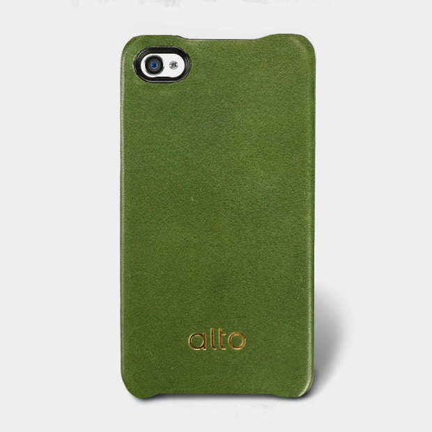 <div>[alto] Original Leather Case For iPhone 4 / 4S 真皮皮革背蓋 綠色</div>