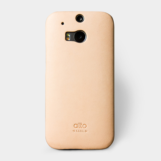 <div>alto&nbsp;Original Leather Case for HTC M8 真皮手機殼背蓋 - 本色</div>