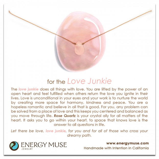<div>Energy Muse-For the Love Junkie&nbsp;心之戀項鍊</div>