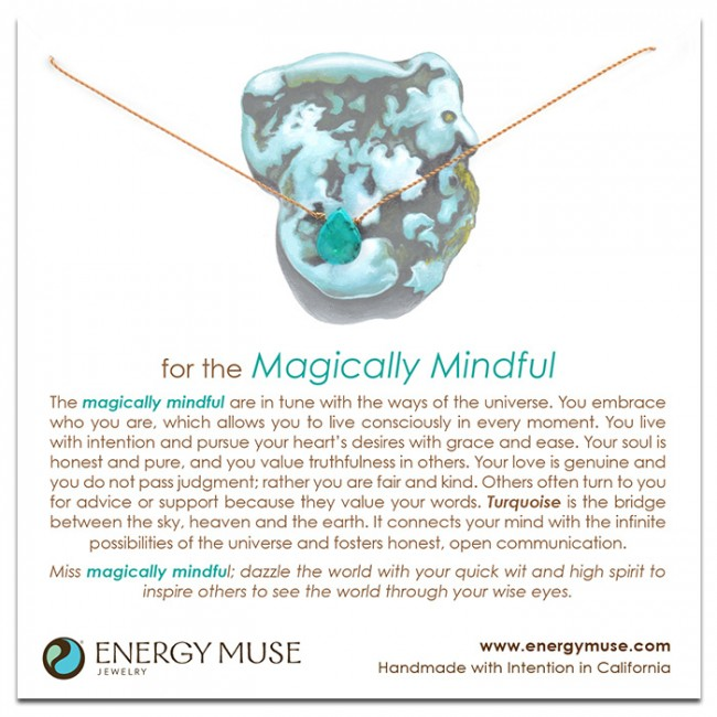 <div>Energy Muse-For the Magically Mindful&nbsp;魔法項鍊</div>