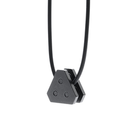 ANONYMOUS NECKLACE - BLACK