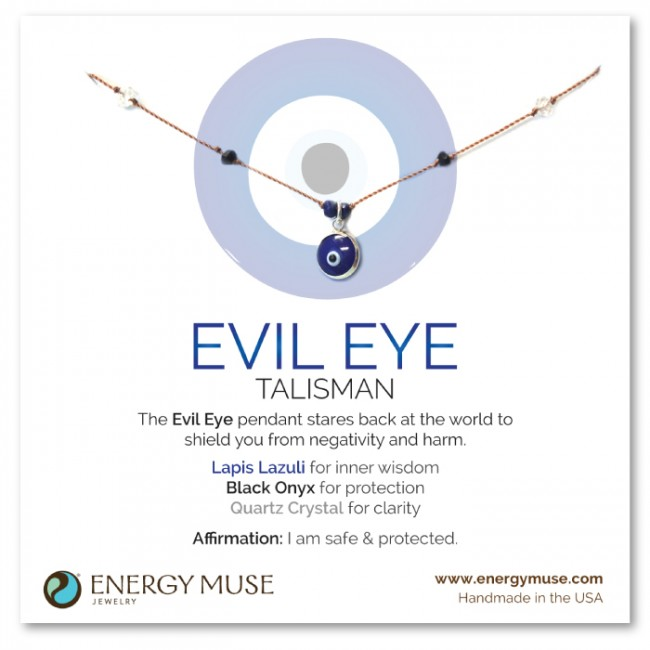 Energy Muse-Evil Eye Talisman Necklace