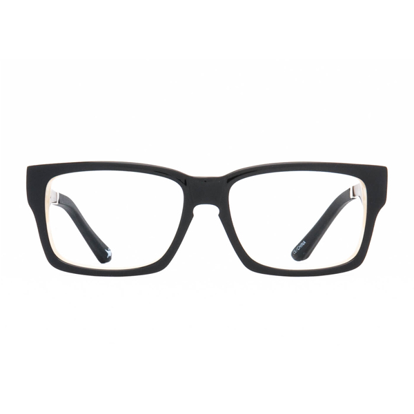 Bannock Eco Rx - Black Bone Clear Lens
