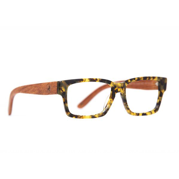 Bannock Eco Rx - Yellow Tortoise Clear Lens