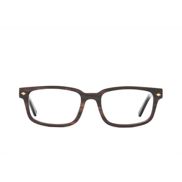 Ashton Wood Rx - Ebony Clear Lens
