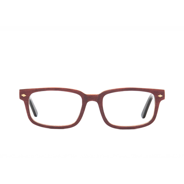 Ashton Wood Rx - Red Maple Clear Lens