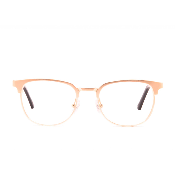 Moscow Aluminum Rx - Rose Gold Clear Lens