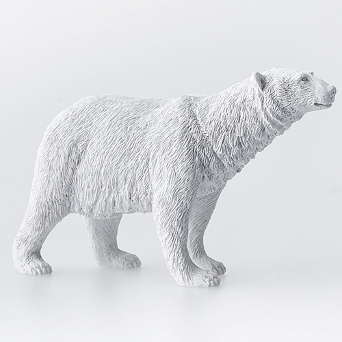 haoshi 良事設計 動物紙鎮擺飾 – 北極熊 / Animal Paperweight - Polar bear