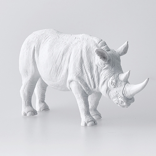 haoshi 良事設計 動物紙鎮擺飾 – 犀牛 / Animal Paperweight - Rhino
