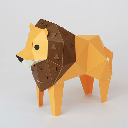 <div>bog craft 立體動物紙藝<br />