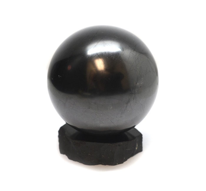 【限量】Energy Muse Shungite Sphere 卡列利亞水晶球