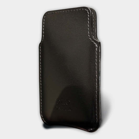 [alto] Informa Leather Case For iPhone 4 / 4S 義大利真皮皮套 黑色