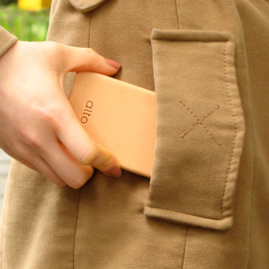 [alto] Original Leather Case For iPhone 4 / 4S 真皮皮革背蓋 皮革本色