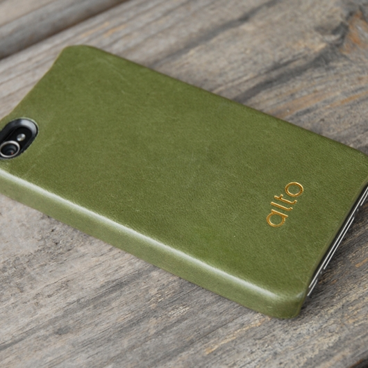 [alto] Original Leather Case For iPhone 4 / 4S 真皮皮革背蓋 綠色