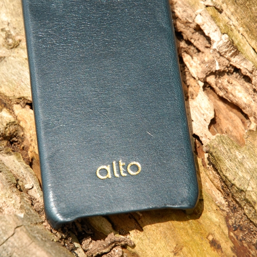 [alto] Original Leather Case For iPhone 4 / 4S 真皮皮革背蓋 海軍藍