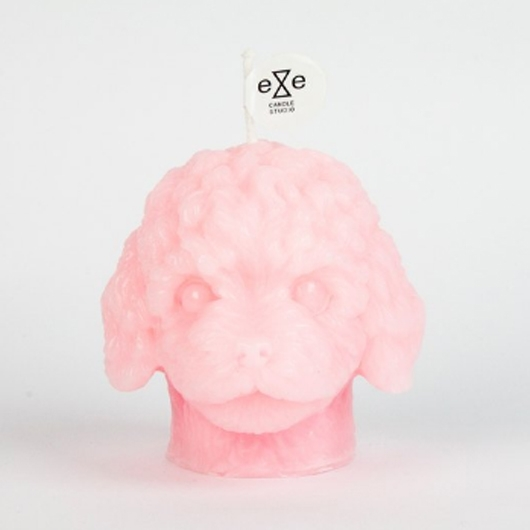 Eye Candle 紅貴賓造型香氛蠟燭 Poodle Candle