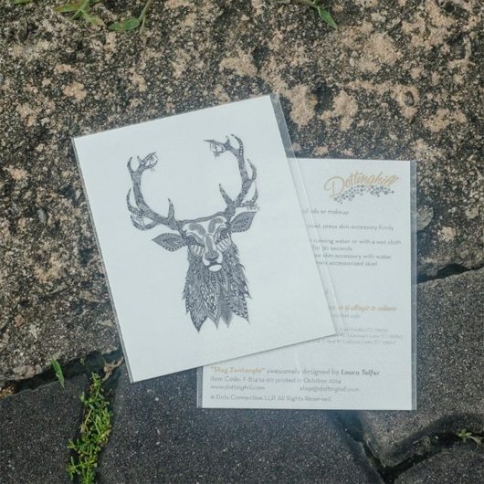 Dottinghill Stag Zentangle