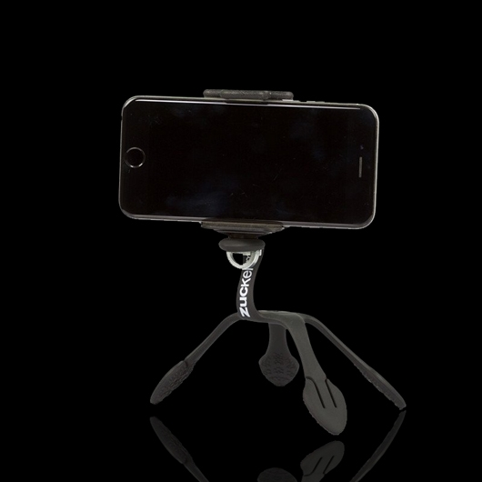GekkoPod 以色列 GekkoPod 第二代壁虎爬(新式變型夾) - 黑 世上最靈活的手機、相機架