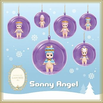 Sonny Angel Christmas Ornament Laduree 聯名限量掛飾(單入隨機款)